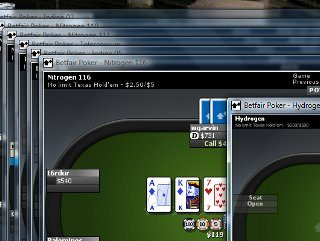 betfair multi-table poker
